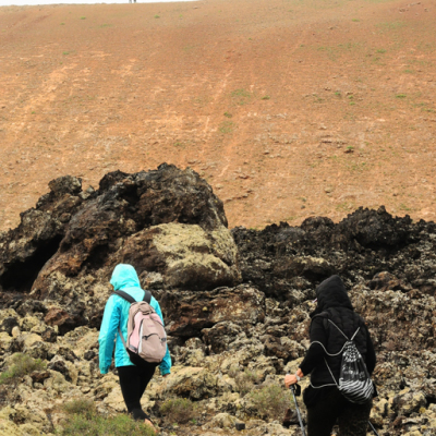 trekking hiking walking lanzarote