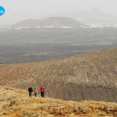 walking trekking hiking lanzarote caldera blanca