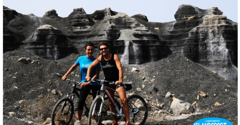 bike rental costa teguise Lanzarote and mountain bike tours