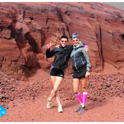 trail running Lanzarote Valentina Belotti and elisa Desco
