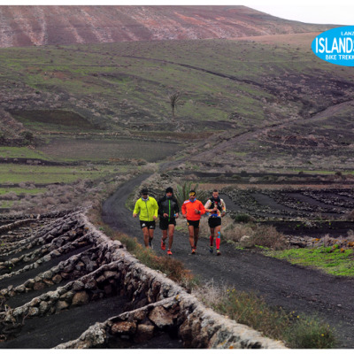 Trail running Lanzarote 24 hours running non stop Matias Machin Cochinilla Trail