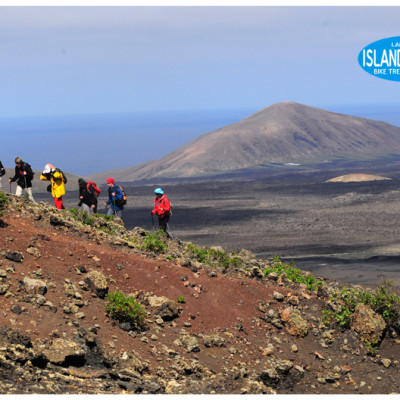 trekking and hiking Volcanoes Natural Park Lanzarote