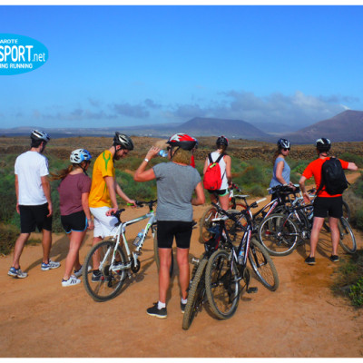 mountain bike group excursions Lanzarote