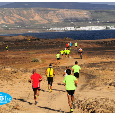 correre trail running Lanzarote, cochinilla trail